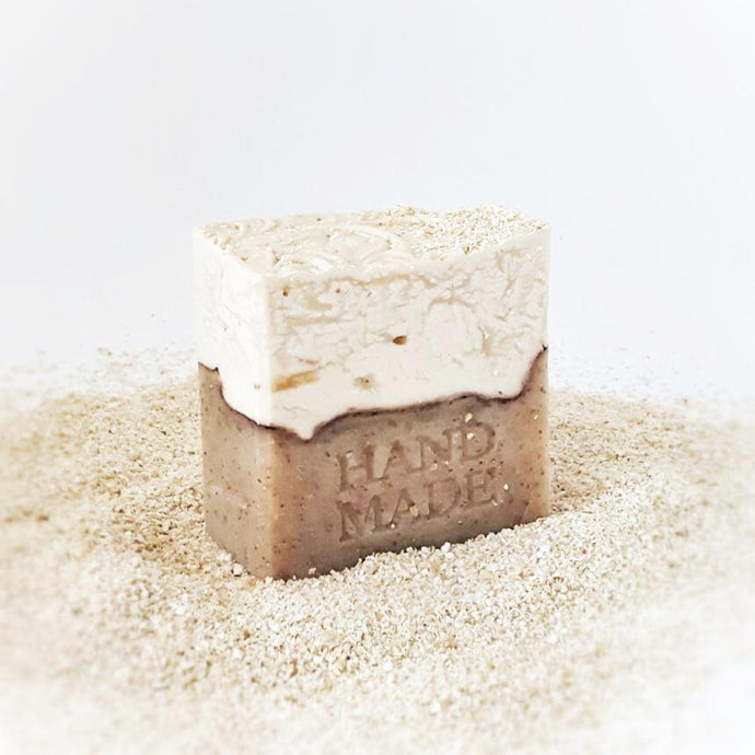 leptis - ALMOND & OATMEAL soap bar - minnua