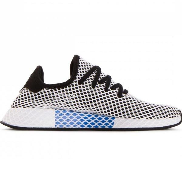 62874696604f0 Adidas Originals Deerupt Black Trainers - CQ2626 – Shoreditch Boutique