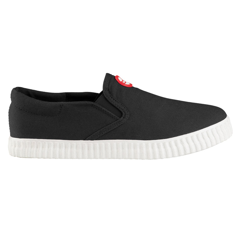 Hai Canvas Slip-on Black