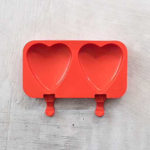 Heart Ice Cream Moulds