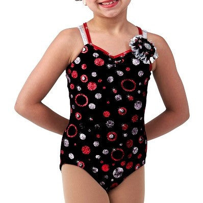 S5-159 CHERRY COLA LEOTARD