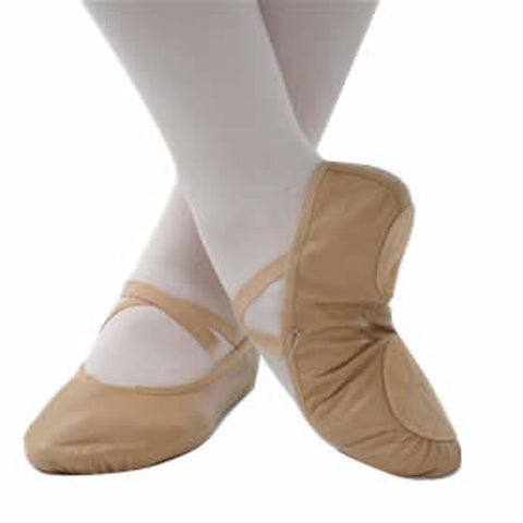 DSF5130  SPLIT SOLE BALLET SHOES - Pink, Tan, Black