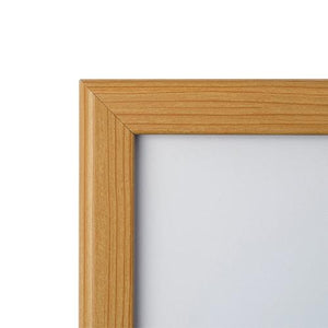 16x20 Light Wood SnapeZo® Snap Frame - 1.25 Inch Profile