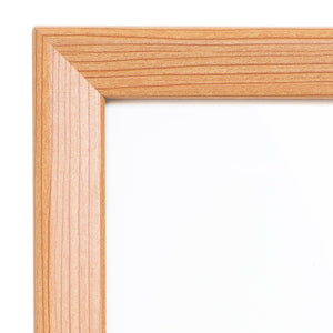 36x48 Light Wood SnapeZo® Snap Frame - 1.25 Inch Profile
