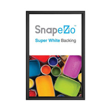 Load image into Gallery viewer, 8x24 Black SnapeZo® Snap Frame - 1 Inch Profile