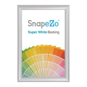 10x29 Silver SnapeZo® Snap Frame - 1.25 Inch Profile