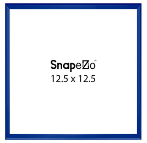 Blue SnapeZo Snap Frame 12.5x12.5 - 1 Inch Profile