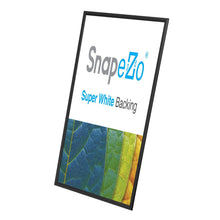 Load image into Gallery viewer, 10x24 Black SnapeZo® Snap Frame - 1.2 Inch Profile