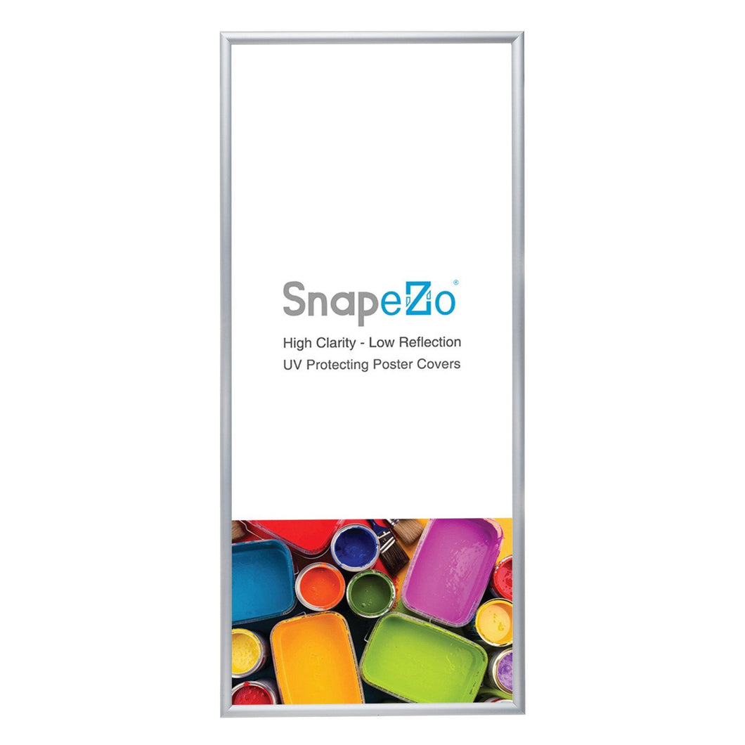 10x24 Silver SnapeZo® Snap Frame - 1.2 Inch Profile