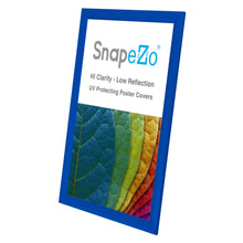Load image into Gallery viewer, 11x17 Blue SnapeZo® Snap Frame - 1 Inch Profile