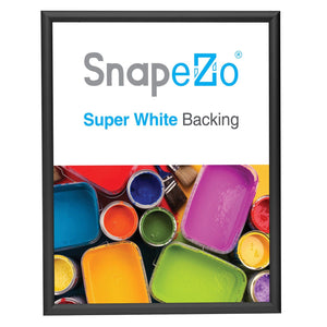 11x14 Black SnapeZo® Snap Frame - 0.6 Inch Profile