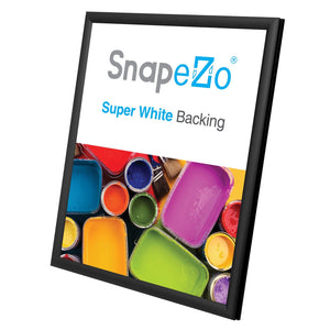 "8.5x11 Black SnapeZo® Snap Frame - 0.6"" Profile"