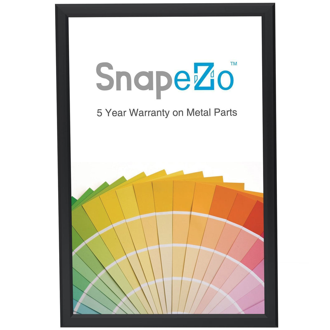 Black SnapeZo® printable frame 11X17 -slim