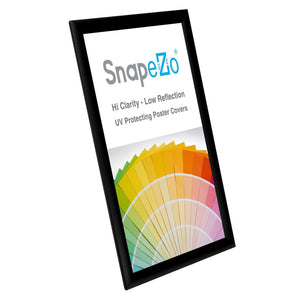 "11x17 Black SnapeZo® Snap Frame - 1"" Profile"