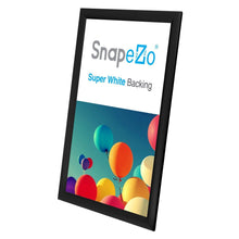 "Load image into Gallery viewer, 11x17 Black SnapeZo® Snap Frame - 1"" Profile"