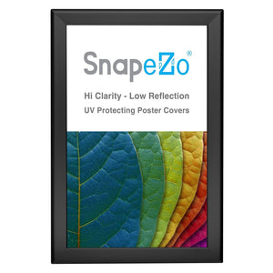 "11x17 Black SnapeZo® Snap Frame - 1.25"" Profile"