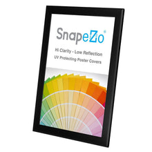 "Load image into Gallery viewer, 11x17 Black SnapeZo® Snap Frame - 1.25"" Profile"