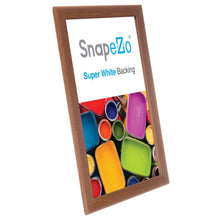 "Load image into Gallery viewer, 11x17 Dark Wood SnapeZo® Snap Frame - 1.25"" Profile"