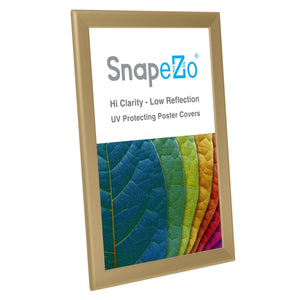 11x17 Gold SnapeZo® Snap Frame - 1.25 Inch Profile