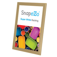 Load image into Gallery viewer, 11x17 Gold SnapeZo® Snap Frame - 1.25 Inch Profile