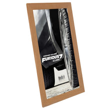 Load image into Gallery viewer, 11x17 Light Wood SnapeZo® Snap Frame - 1.2 Inch Profile