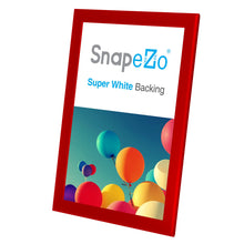 Load image into Gallery viewer, 11x17 Red SnapeZo® Snap Frame - 1.25 Inch Profile