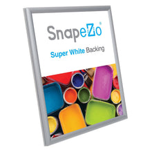 "Load image into Gallery viewer, 8.5x11 Silver SnapeZo® Snap Frame - 0.6"" Profile"