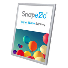 "Load image into Gallery viewer, 5x7 Silver SnapeZo® Snap Frame - 0.6"" Profile"