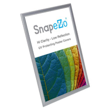 Load image into Gallery viewer, 11x17 Silver SnapeZo® Snap Frame - 0.8 Inch Profile