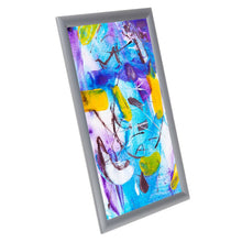 Load image into Gallery viewer, Silver Kids' Arts SnapeZo® snap frame poster size 11X17 - 1 inch profile