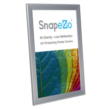 Load image into Gallery viewer, 11x17 Silver SnapeZo® Snap Frame - 1.25 Inch Profile