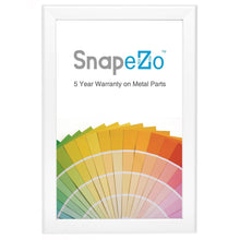 Load image into Gallery viewer, White SnapeZo® printable frame 11x17 - premium