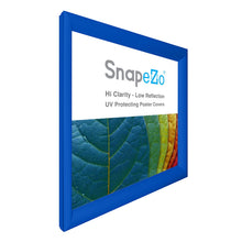 "Load image into Gallery viewer, 36x37 Blue SnapeZo® Snap Frame - 1.2"" Profile"