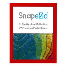 "Load image into Gallery viewer, 34x44 Red SnapeZo® Snap Frame - 1.2"" Profile"