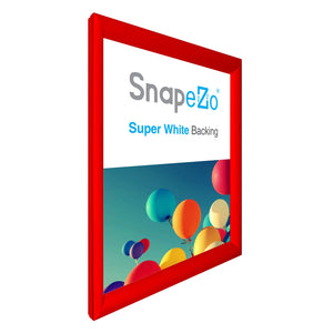 "34x44 Red SnapeZo® Snap Frame - 1.2"" Profile"