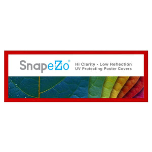 13.5x40 Red SnapeZo® Snap Frame - 1.2 Inch Profile