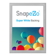 "Load image into Gallery viewer, A0 Silver SnapeZo® Snap Frame - 1.2"" Profile"