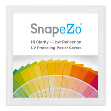 "Load image into Gallery viewer, 36x37 White SnapeZo® Snap Frame - 1.2"" Profile"