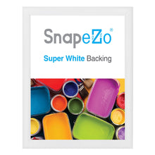 "Load image into Gallery viewer, 34x44 White SnapeZo® Snap Frame - 1.2"" Profile"