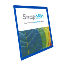 Load image into Gallery viewer, 14x16 Blue SnapeZo® Snap Frame - 1.2 Inch Profile
