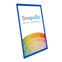 Load image into Gallery viewer, 14x26 Blue SnapeZo® Snap Frame - 1.2 Inch Profile