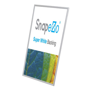14x36 Silver SnapeZo® Snap Frame - 1.2 Inch Profile