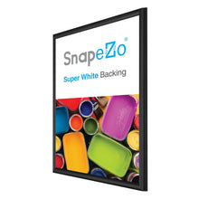 "Load image into Gallery viewer, 20x30 Black SnapeZo® Snap Frame - 0.6"" Profile"