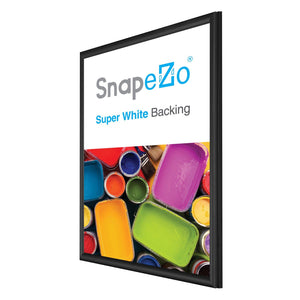 "20x30 Black SnapeZo® Snap Frame - 0.6"" Profile"