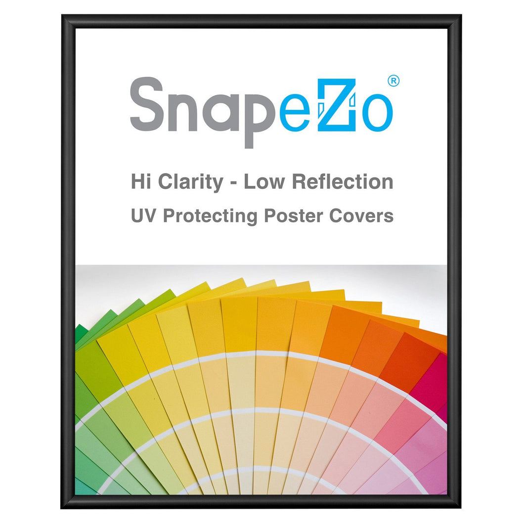 16x20 Black SnapeZo® Snap Frame - 0.6 Inch Profile