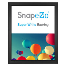 Load image into Gallery viewer, 16x20 Black SnapeZo® Snap Frame - 0.8 Inch Profile