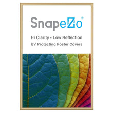 "Load image into Gallery viewer, 20x30 Gold SnapeZo® Snap Frame - 0.6"" Profile"