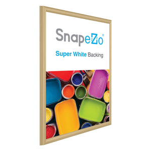 "20x30 Gold SnapeZo® Snap Frame - 0.6"" Profile"