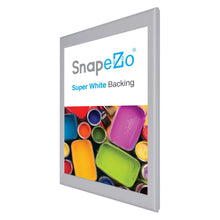 "Load image into Gallery viewer, 20x30 Silver SnapeZo® Snap Frame - 0.8"" Profile"