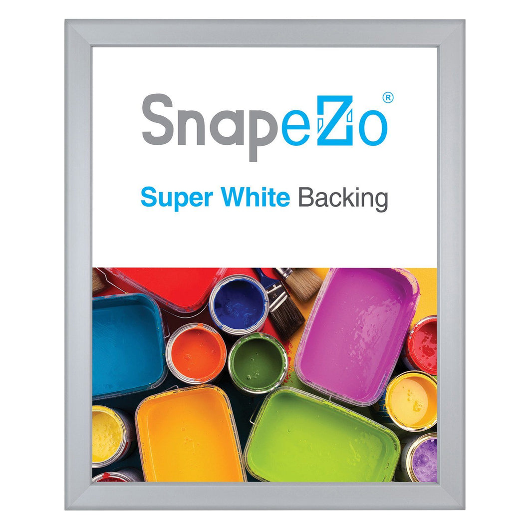 16x20 Silver SnapeZo® Snap Frame - 0.8 Inch Profile